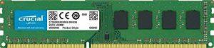Crucial CT51264BD160B 4Go (DDR3L, 1600 MT/s, PC3L-12800, DIMM, 240-Pin) Mémoire de la marque Crucial image 0 produit