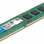 Crucial CT51264BD160B 4Go (DDR3L, 1600 MT/s, PC3L-12800, DIMM, 240-Pin) Mémoire de la marque Crucial image 1 produit