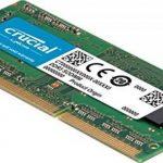 Crucial CT51264BF160BJ 4Go (DDR3L, 1600 MT/s, PC3L-12800, Single Rank, SODIMM, 204-Pin) Mémoire de la marque Crucial image 1 produit