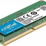 Crucial CT8G4S24AM 8Go DDR4 2400 MT/s (PC4-19200) SR x8 Unbuffered SODIMM 260-Pin Mémoire pour Mac de la marque Crucial image 1 produit