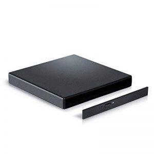 CSL - Boîtier Externe USB2.0 pour Lecteur graveur CD/DVD/ Blu−Ray 12,7 avec Interface IDE | avec câble d'alimentation USB et câble de Data USB | IDE |Plug & Play de la marque CSL-Computer image 0 produit
