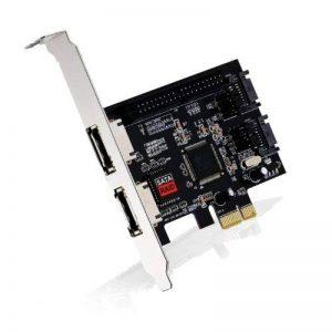 CSL - Carte interface PCI Express eSATA + SATAII + PATA (IDE) | Carte contrôleur 2 x eSATA, 2 x SATA II et 1 x PATA | Avec contrôleur RAID (JBOD) de la marque CSL-Computer image 0 produit