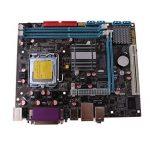 D DOLITY P45-771 Carte Mère Micro-ATX DDR3 CPU A771 Carte Son Intégrée ALC661, Carte Son HD 5.1 Canaux Pour Ordinateur Bureau Ou Maison de la marque D DOLITY image 2 produit