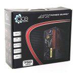 de commutation d'alimentation PSU 750W ATX avec ventilateur 12cm rouge silencieux / pour ordinateur PC / iCHOOSE de la marque iChoose Limited image 3 produit