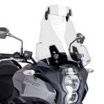 Deflecteur Honda NC 750 X Puig Clip-On Spoiler clair de la marque Puig image 3 produit