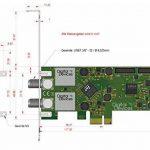 Digital Devices Twin Tuner carte TV DVB-S/S2(Carte PCI Express)–DD Cine S2V7a de la marque Digital Devices image 1 produit