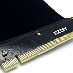 EasyDiy New PCI Express 16 x Câble Flexible Cartes Rallonge Port Adaptateur Riser Card Haute Vitesse 20cm de la marque EasyDiy image 2 produit