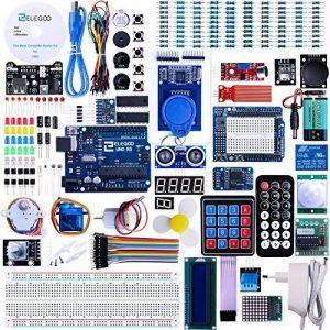 ELEGOO Arduino Carte UNO R3 Starter Kit de Démarrage Ultime avec Manuel d'Utilisation Français Le Plus Complet pour Débutants et Professionnels DIY de la marque ELEGOO image 0 produit