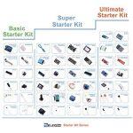 ELEGOO Arduino-Compatible Carte UNO R3 Kit De Démarrage Basique avec Guide d'utilisation Français Kit d'apprentissage de Base Projet de la marque ELEGOO image 3 produit