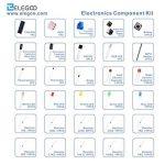 ELEGOO Composants Électroniques Kit de Démarrage avec Potentiomètre de Précision, Buzzer, Condensateurs, pour Arduino UNO Mega 2560 Raspberry Pi de la marque ELEGOO image 3 produit