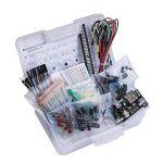 ELEGOO Fun Kit Composant Électronique Breadboard Câble Resistor Capacitor LED Potentiomètre pour Arduino Kit d'apprentissage, UNO, MEGA2560, Raspberry Pi de la marque Elegoo image 1 produit
