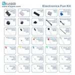 ELEGOO Fun Kit Composant Électronique Breadboard Câble Resistor Capacitor LED Potentiomètre pour Arduino Kit d'apprentissage, UNO, MEGA2560, Raspberry Pi de la marque Elegoo image 2 produit