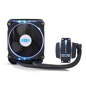 EMPIRE GAMING [Nouveaute] Empire Cooler 120 - Kit Watercooling PC AlO Gamer Refroidissement Liquide Ventilateur 120 mm PWN CPU Intel et AMD de la marque EMPIRE GAMING image 0 produit
