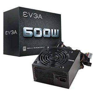 EVGA 600 W1, 80+ WHITE 600W, 3 ans Garantie, Alimentation PC 100-W1-0600-K2 de la marque EVGA image 0 produit