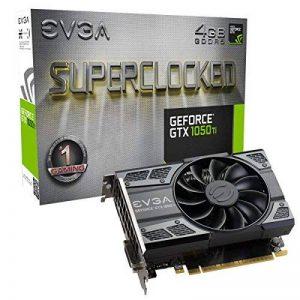 EVGA GeForce GTX 1050 Ti SC GAMING, 4GB GDDR5, DX12 OSD Support (PXOC) Carte Graphique 04G-P4-6253-KR de la marque EVGA image 0 produit