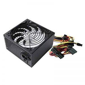 Ewent EW3905 600W ATX Noir unité d'alimentation d'énergie - Unités d'alimentation d'énergie (600 W, Passif, 28 W, 25 A, 22 A, Surtension, Surcharge, Court-Circuit, sous-Tension) de la marque Ewent image 0 produit
