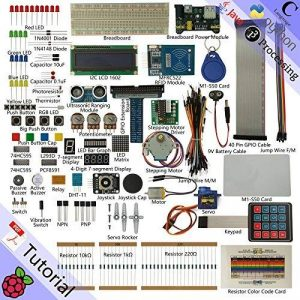 Freenove RFID Starter Kit for Raspberry Pi | Beginner Learning | Model 3B+ 3B 2B 1B+ 1A+ Zero W | Python, C, Java, Processing | 53 Projects, 391 Pages Detailed Tutorials, 200+ Components de la marque Freenove image 0 produit
