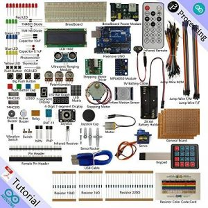 Freenove Ultimate Starter Kit for Arduino | Beginner Learning | UNO R3 Mega Nano Micro | Processing Oscilloscope Voltmeter | 51 Projects, 260 Pages Detailed Tutorials, 210+ Components de la marque Freenove image 0 produit