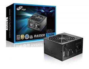 FSP Raider S750 80Plus Silver Alimentation PC ATX 750W de la marque FSP image 0 produit