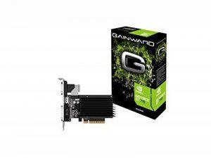Gainward 3576 Carte Graphique Nvidia GeForce GT710 2048 Mo PCI Express de la marque Gainward Europe image 0 produit