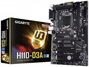 Gigabyte GA-H110-D3A Carte mère Intel Socket lga 1151 (Socket h4) de la marque Gigabyte image 0 produit
