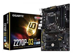 Gigabyte LGA1151Intel Z2702Voies SLI Carte mère ATX DDR4(Ga-z270X -UD5) GA-Z270P-D3 de la marque Gigabyte image 0 produit