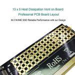 GLOTRENDS M.2 PCIe NVMe or PCIE AHCI SSD to PCIE 3.0 x4 Adapter Card for Key M 2230-2280 Size M.2 SSD (PA05) de la marque glotrends image 2 produit