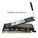 GLOTRENDS M.2 PCIe NVMe or PCIE AHCI SSD to PCIE 3.0 x4 Adapter Card for Key M 2230-2280 Size M.2 SSD (PA05) de la marque glotrends image 3 produit