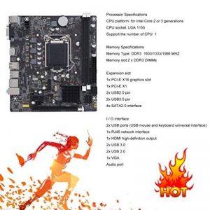 Gugutogo B75–1155ordinateur de bureau carte mère durable carte mère CPU Interface LGA 1155 de la marque Gugutogo image 0 produit