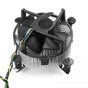 Hemore Aluminium Ventilateur de Refroidissement du Ventilateur de Refroidissement Silencieux Cooler Ordinateur PC Super Travail de Bureau Système de Refroidissement de la marque Hemore image 0 produit