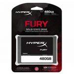 """HyperX Fury - Disque Dur Interne Gaming SSD 2.5"""" DE 480 Go SATA 3, Noir de la marque HyperX image 2 produit"""