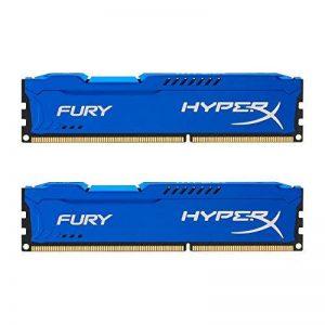 HyperX Fury - HX316C10FK2 - Mémoire RAM 8 Go Kit (2 x 4 Go) - DDR3 - Bleu de la marque HyperX image 0 produit