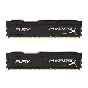 HyperX Fury - HX318C10FBK2 - Mémoire RAM 16 Go Kit (2x8 Go) - DDR3 - Noir de la marque HyperX image 0 produit
