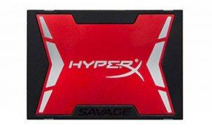 """HyperX Savage SSD - SHSS3B7A/480G - 480Go SATA 3 - 2.5"""" avec Kit d'Actualisation de la marque HyperX image 0 produit"""