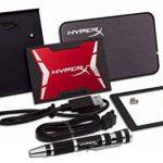 """HyperX Savage SSD - SHSS3B7A/480G - 480Go SATA 3 - 2.5"""" avec Kit d'Actualisation de la marque HyperX image 3 produit"""