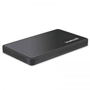 Inateck FE2004 USB 3.0 HDD/SSD Boîtier externe pour disque dur externe 2,5 SATA SSD et disque dur de 9,5mm et 7mm de la marque Inateck image 0 produit