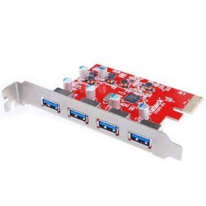 Inateck [Mac Pro Auto alimentation] KT4004 Carte Contrôleur USB 3.0 4 ports PCI Express pour Mac Pro Carte expansion USB 3.0 de la marque Inateck image 0 produit