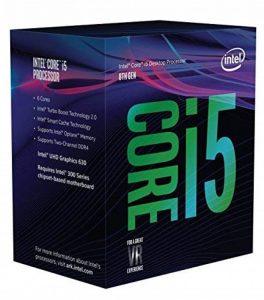 Intel BX80684I58600 Processeur i5-8600 Coffee Lake LGA1151 3.1Ghz/6Mo de la marque Intel image 0 produit