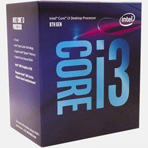 Intel Core i3-8100 3.6GHz 6Mo Smart Cache Boîte processeur - processeurs (3.60 GHz), 3,6 GHz, PC, 14 nm, i3-8100, 8 GT/s, 64-bit de la marque Intel image 0 produit