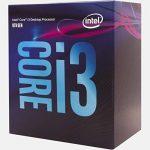 Intel Core i3-8100 3.6GHz 6Mo Smart Cache Boîte processeur - processeurs (3.60 GHz), 3,6 GHz, PC, 14 nm, i3-8100, 8 GT/s, 64-bit de la marque Intel image 1 produit