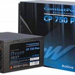 Inter-Tech DTK Combat Power Bloc d'alimentation 750 W type ATX pour PC, avec fonction PFC passive, conforme normes CE de la marque Inter-Tech image 2 produit
