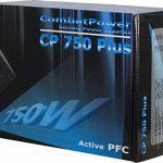Inter-Tech DTK Combat Power Bloc d'alimentation 750 W type ATX pour PC, avec fonction PFC passive, conforme normes CE de la marque Inter-Tech image 3 produit