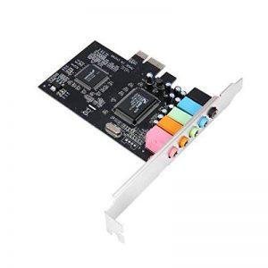 Interface de Bus PCI-e Express 32 Bits PCI-E 5.1 Canaux Carte Son Audio numérique Chipset CMI8738 de la marque Delicacydex image 0 produit