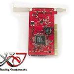 KALEA-INFORMATIQUE © - Carte contrôleur PCI FIREWIRE 400 (Ieee1394a 3 PORTS) + SATA (2 PORTS) - Gamme Professionnelle / COMPOSANTS HAUTE QUALITE - Pilotes Préinstallés pour Windows / Mac / Linux ! de la marque KALEA-INFORMATIQUE image 1 produit