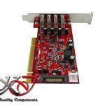 KALEA-INFORMATIQUE © - Carte contrôleur PCI USB 3.0 SuperSpeed - 4 ports - Gamme Professionnelle / COMPOSANTS HAUTE QUALITE - Pilotes Préinstallés pour Windows / Mac / Linux ! de la marque KALEA-INFORMATIQUE image 2 produit