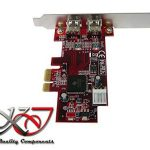 KALEA-INFORMATIQUE © - Carte contrôleur PCIe FIREWIRE 400 (Ieee1394a) avec chipset TEXAS INSTRUMENTS TI XIO2200 - 2 ports - Gamme Professionnelle / COMPOSANTS HAUTE QUALITE - Adaptée pour CARTE SON de la marque KALEA-INFORMATIQUE image 2 produit