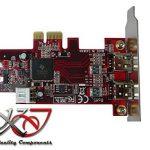 KALEA-INFORMATIQUE © - Carte contrôleur PCIe FIREWIRE 400 (Ieee1394a) avec chipset TEXAS INSTRUMENTS TI XIO2200 - 2 ports - Gamme Professionnelle / COMPOSANTS HAUTE QUALITE - Adaptée pour CARTE SON de la marque KALEA-INFORMATIQUE image 3 produit