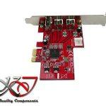 KALEA-INFORMATIQUE © - Carte contrôleur PCIe FIREWIRE 400 (Ieee1394a) et 800 (ieee3194b) avec chipset TEXAS INSTRUMENTS TI XIO2213 - 2 + 1 ports - Gamme Professionnelle / COMPOSANTS HAUTE QUALITE - Pilotes Préinstallés pour Windows / Mac / Linux ! de la m image 2 produit