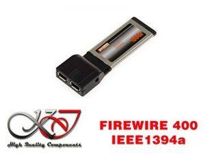 KALEA-INFORMATIQUE © - Carte Express Card (ExpressCard 34mm) - 2 Ports FireWire IEEE1394a - CHIPSET VIA VT6315N - COMPATIBLE WINDOWS ET MAC de la marque KALEA-INFORMATIQUE image 0 produit