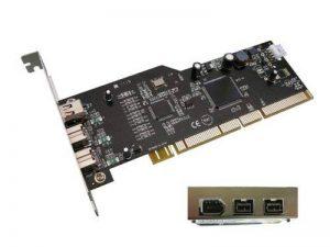 KALEA-INFORMATIQUE © - Carte PCI-X FireWire 800 (IEEE1394b) 3 ports - PCIX 64 Bits (Compatible PCI 32 Bits) - Chipset TEXAS INSTRUMENT de la marque KALEA INFORMATIQUE image 0 produit